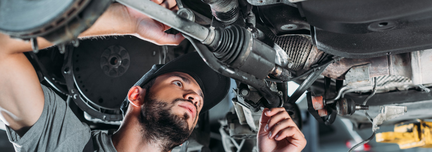 Mechanic looking under a vehicle - Car Repairs Penrith